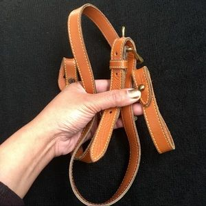 Authentic Dooney&Bourke VINTAGE Leather strap